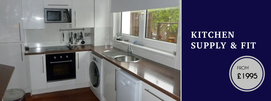 Glasgow Kitchen Fitter example 1