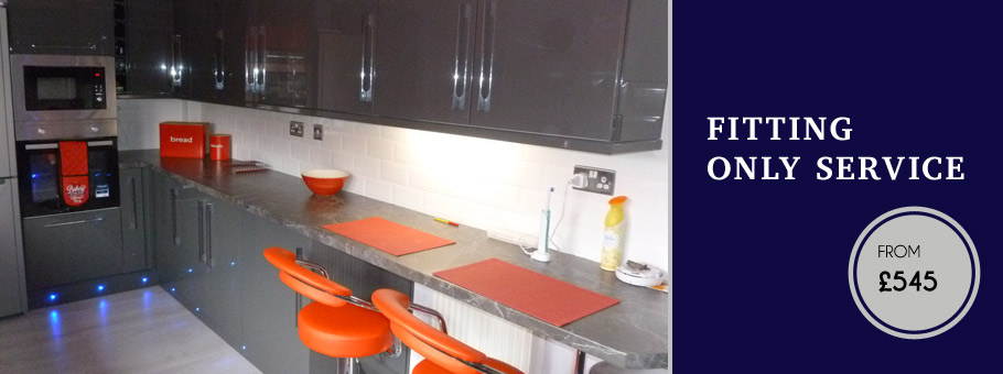 Glasgow Kitchen Fitter example 2